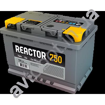 Аккумулятор Reactor 75ah