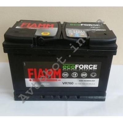 Аккумулятор Fiamm Ecoforse AGM 70ah
