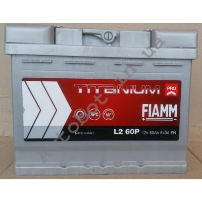 Аккумулятор Fiamm Titanium plus 60ah (540EN)