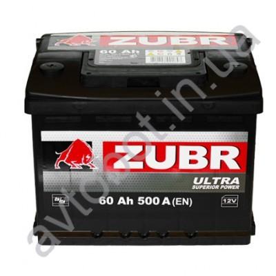 Аккумулятор Zubr Ultra 60аh
