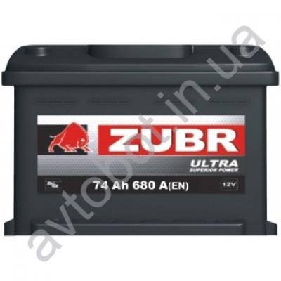Аккумулятор Zubr Ultra 74аh