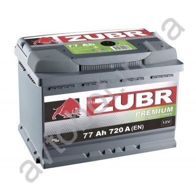 Аккумулятор Zubr Premium 77аh